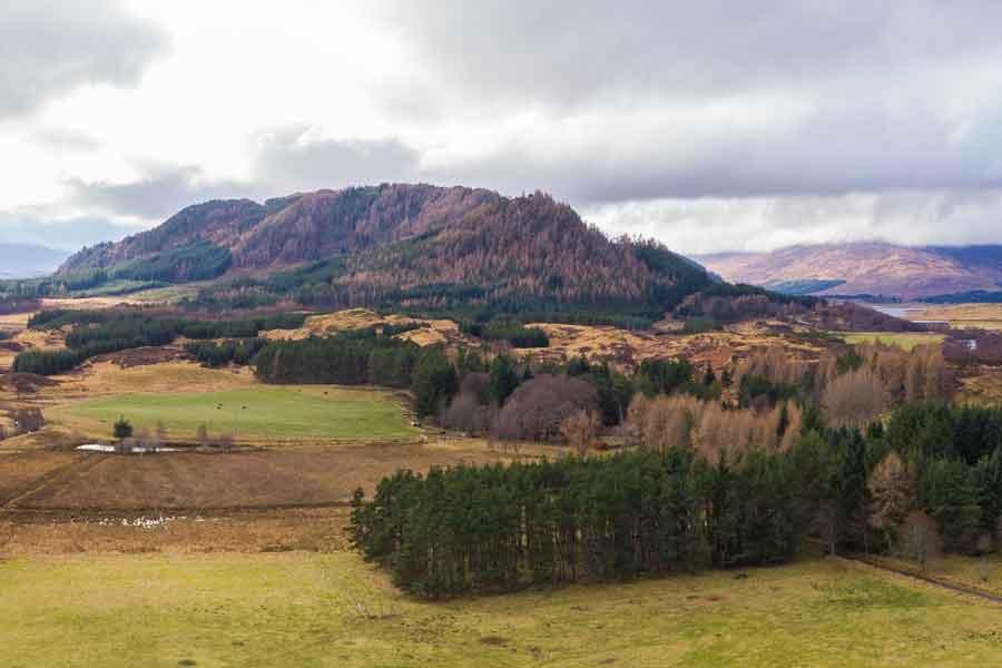 land at Dalchully