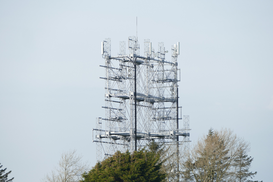telecom mast - Davidson & Robertson